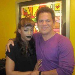 Romero with Trina