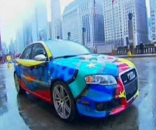 Read The Audi RS4 by Romero Britto