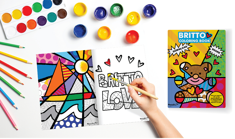 - FREE BRITTO COLORING BOOK – Romero Britto